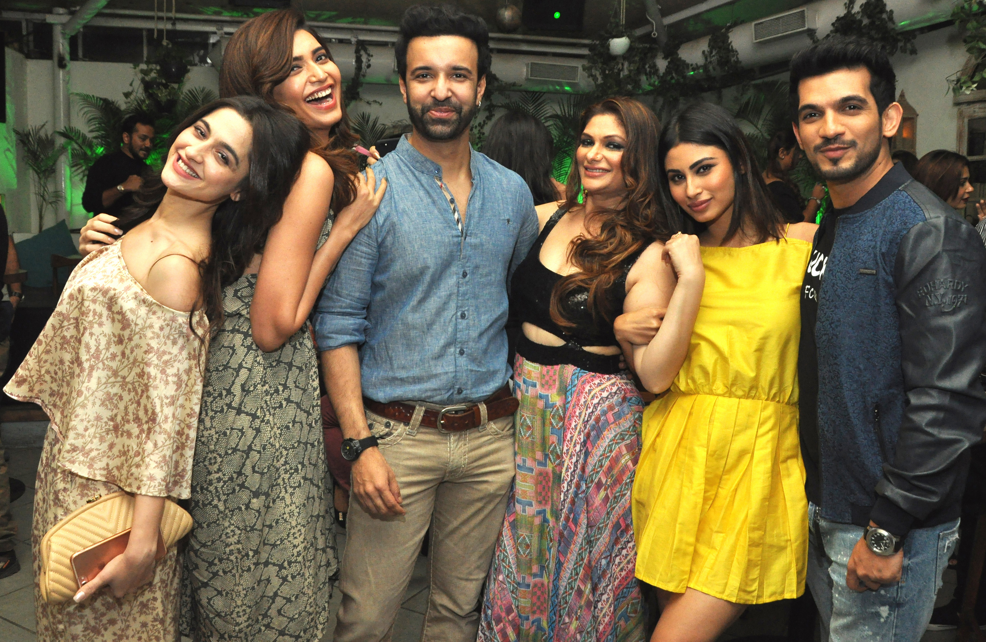 11  Sanjeeda Sheikh, Karishma Tanna, Aamir Ali, Sohanna