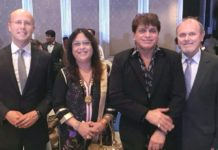 Ncp Leader Dr. Suraina Malhotra Along With Nileish Malhotra Attends Europe Day Function In Mumbai