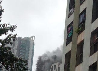 Fire Video Of Prabha Devi Building Exclusive on Hello Mumbai News
