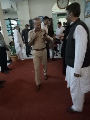 Mumbai Police Commissioner Hosts, Eid Milan Party
