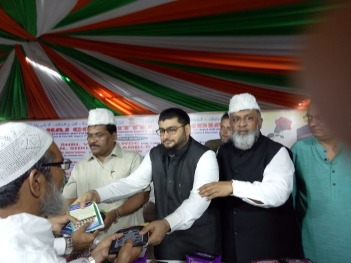 Congress Leader Mudassar Patel Wishes to Haj Pilgrims