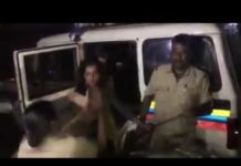 Girls Drug Paddlers Fighting Video