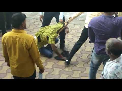 Modi Shown Black Flags in Sholapur
