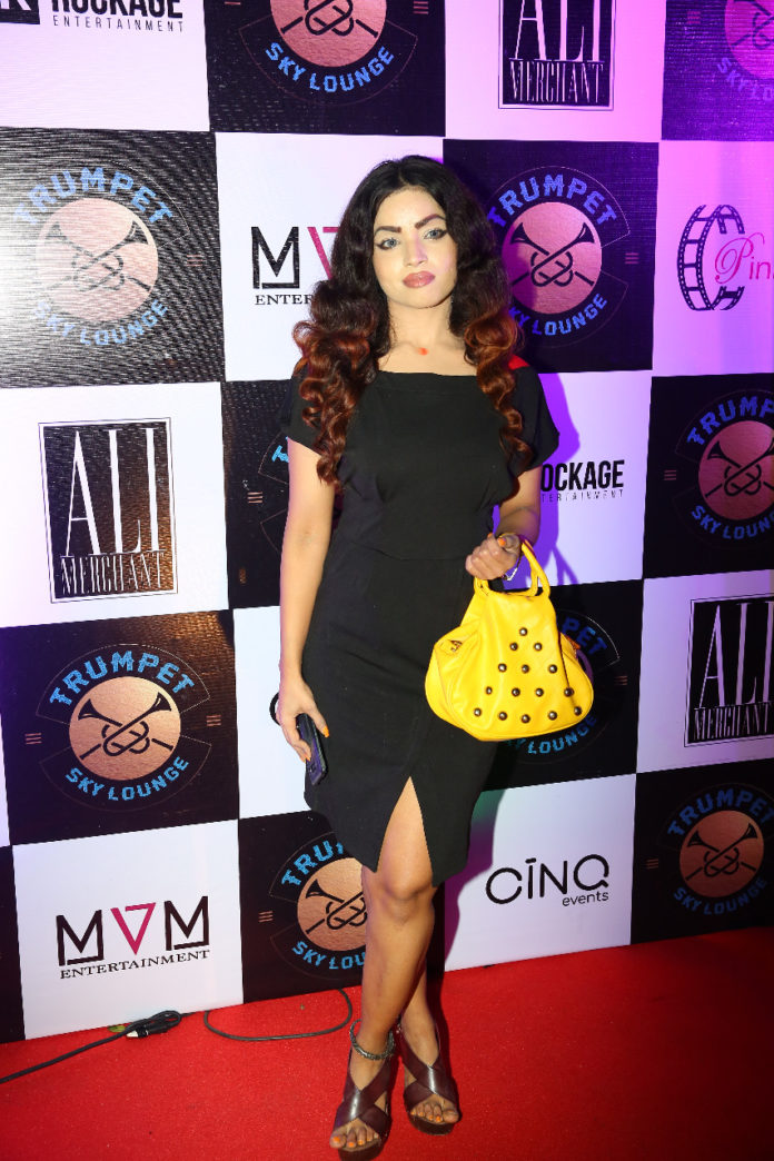 Launch Party Of Trumpet Sky Lounge in Andheri