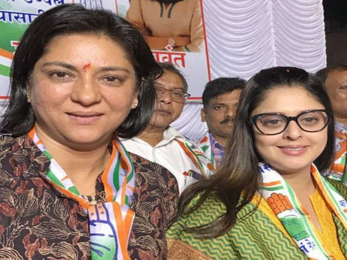 Actress Nagma To Replace Priya Dutt in Mumbai for Lok Sabha