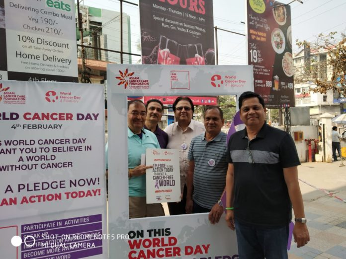 World Cancer Day Observed Widely in Assam