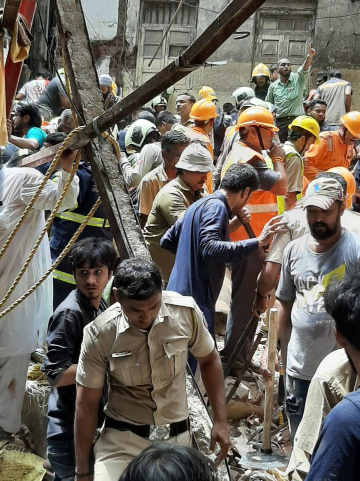 Mumbai Police registered an FIR in Dongri building Collapsed case